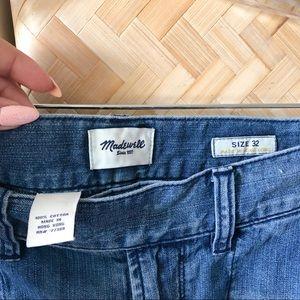 "Madewell Shorts - Madewell 5"" Inseam Denim Shorts"